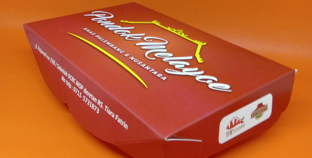 Custom Kemasan Makanan | Food Grade Paper Lunch Box