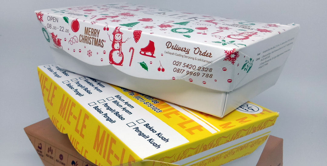Bahan Dasar Kemasan Makanan Kemasan Makanan Paper Lunch Box